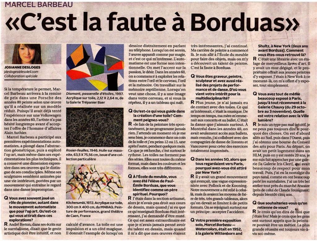 Marcel Barbeau OK