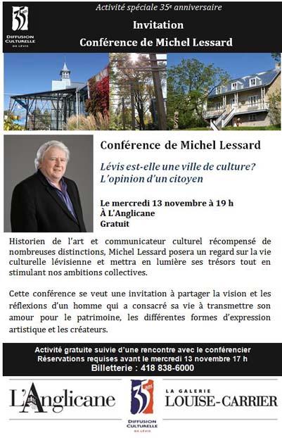 Michel Lessard conference