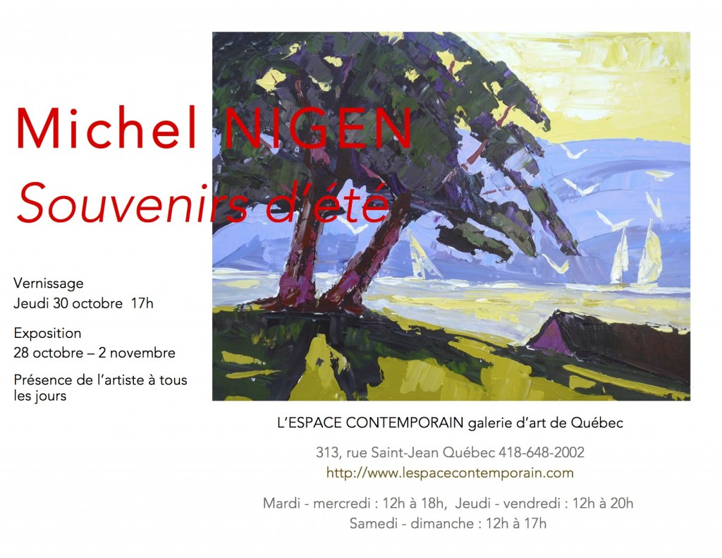 Invitation, Michel Nigen