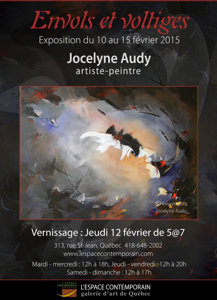 Invitation, Jocelyne Audy
