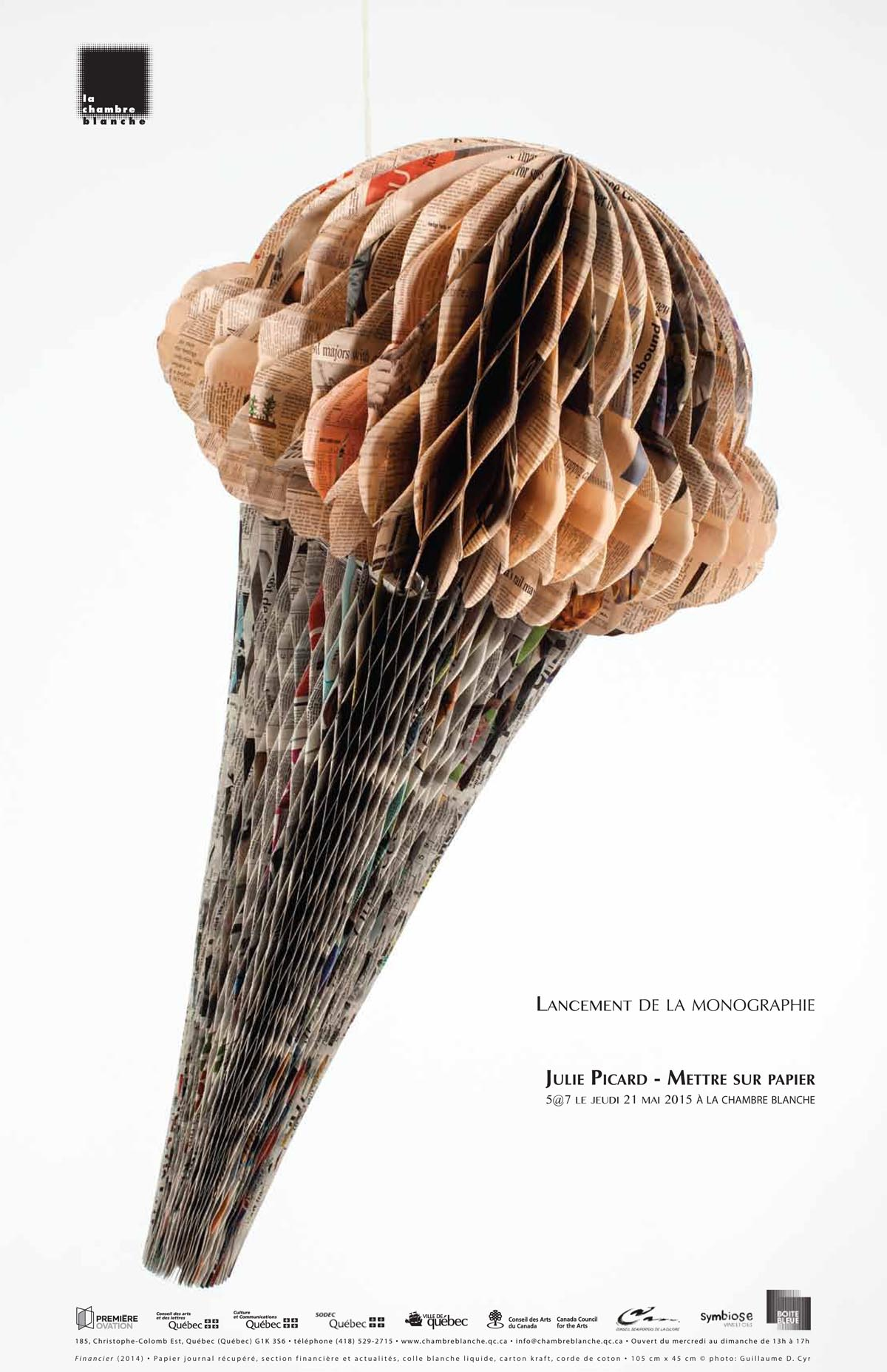 julie picard mettre sur papier club des collectionneurs en arts visuels de qu bec. Black Bedroom Furniture Sets. Home Design Ideas