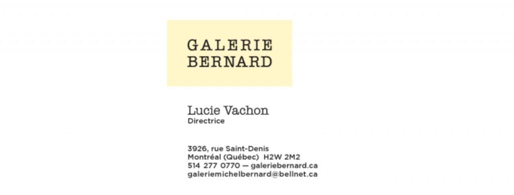 Galerie Bernard-en tete