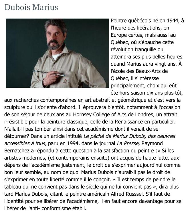 EncyclopŽdie de L'Agora | Dubois Marius