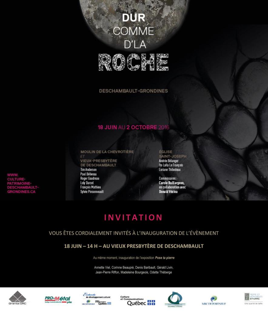Invitation Dur comme d'la roche 2